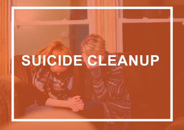 suicide cleanup